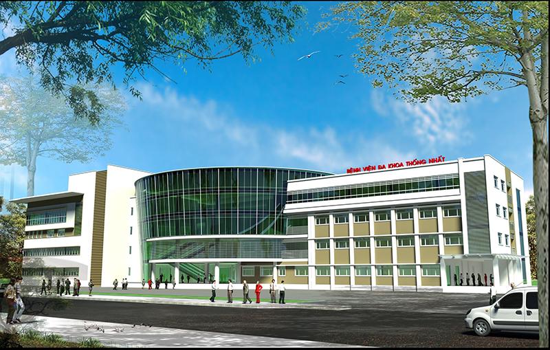 Dự án Đầu tư Xây dựng Khoa khám bệnh, Cấp cứu và Khu Hành chính Bệnh viện Đa khoa Thống Nhất